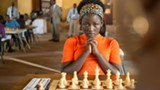 "PHOTO COURTESY WALT DISNEY STUDIOS - Madina Nalwanga - in ""Queen of Katwe."""