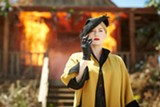 "PHOTO COURTESY BROAD GREEN PICTURES - Kate Winslet burning up the countryside - in ""The Dressmaker."""