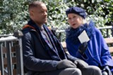 "PHOTO COURTESY WARNER BROS. - Will Smith and Helen Mirren in ""Collateral Beauty."""