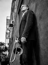 PHOTO BY PETER GANNUSHKIN - Trombonist Joe Fiedler will play with his quintet at the Bop Shop on Thursday, March 30.