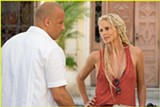 "PHOTO COURTESY UNIVERSAL PICTURES - Vin Diesel and Charlize Theron - in ""The Fate of the Furious."""