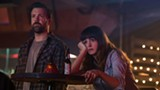 "PHOTO COURTESY NEON - Anne Hathaway and Jason Sudeikis in ""Colossal."""