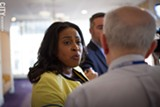 PHOTO BY KEVIN FULLER - Rochester Mayor Lovely Warren, at the Monroe County Democratic Convention.