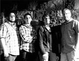 PHOTO PROVIDED - Rochester band The Flood is (left to right) bassist Justin Rister, drummer Matt Bevan-Perkins, keyboardist Josh Massicot, and guitarist Eric Carlin.