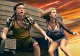 "PHOTO COURTESY STX ENTERTAINMENT - Dane DeHaan and Cara Delevingne in ""Valerian and the City of a Thousand - Planets."""