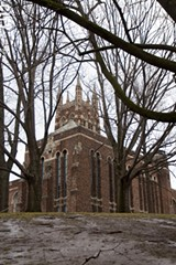 PHOTO BY KEVIN FULLER - Neighborhood residents and preservationists want the divinity school campus declared a landmark.