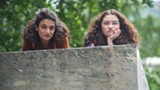 "PHOTO COURTESY AMAZON STUDIOS - Jenny Slate and Abby Quinn in ""Landline."""