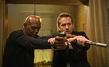 "PHOTO COURTESY LIONSGATE - Ryan Reynolds and Samuel L. Jackson in ""The Hitman's - Bodyguard."""