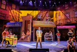 "PHOTO BY GOAT FACTORY MEDIA - The cast of ""In the Heights,"" on stage at Geva Theatre Center."