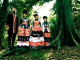 """PHOTO COURTESY RIOT ARTISTS - Ukrainian band DakhaBrakha, which means """"give/take,"""" blends traditional folk music with modern genres for a unique globe-spanning sound."""