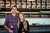 PHOTO BY JACOB WALSH - Living Roots Wine & Co. owners Sebastian and Colleen Hardy make and sell wines in both Upstate New York and South Austrailia.