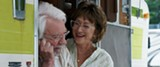"PHOTO COURTESY SONY PICTURES CLASSICS - Donald Sutherland and Helen Mirren in ""The - Leisure Seeker."""