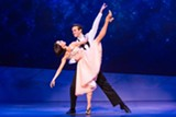 "PHOTO BY MATTHEW MURPHY - Allison Walsh and McGee Maddox in ""An American in Paris."""