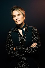 PHOTO BY LAURA PARTAIN - Mary Gauthier says the Songwriting with Soldiers program is - therapeutic, but it isn't therapy.