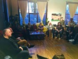 PHOTO PROVIDED - A recent meeting of the Rochester Art Collectors group took place at Makers Gallery and Studio.