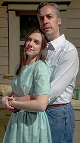 "PHOTO BY STEVEN LEVINSON - Kristin Mellema and Mark Bradley Miller in ""The Bridges of Madison County, the Musical."""