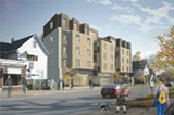 IMAGE COURTESY CITY OF ROCHESTER - The developer's renderings of the proposed Gold Street Lofts.