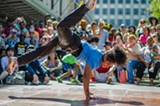 "PHOTO BY JOHN SCHLIA - Hip-hop and all-style dance battle ""Fringe Street Beat"" returns for its third year during the second weekend of Rochester Fringe."