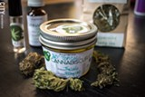 PHOTO BY RYAN WILLIAMSON - Rochester-based company Navitas offers a variety of CBD products through its Cannabis Cur.es store at the Rochester Public Market.