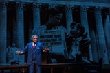 "PHOTO BY GOAT FACTORY MEDIA ENTERTAINMENT - Lester Purry as Thurgood Marshall in Geva's production of ""Thurgood."""