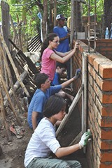 PHOTO PROVIDED - The 4Walls Project had been sending volunteers to help build homes in El Sauce, Nicaragua, until the US State Department issued an advisory cautioning against travelling to the country.