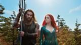 "PHOTO COURTESY WARNER BROS - Jason Momoa and Amber Heard in - ""Aquaman."""