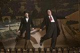 "PHOTO COURTESY SONY PICTURES CLASSICS - Steve Coogan and John C. Reilly as classic comedy duo Laurel and Hardy in ""Stan & Ollie."""
