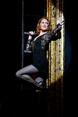 "PHOTO BY JEREMY DANIEL - Dylis_Croman as Roxie Hart in ""Chicago,"" staged this week at The Auditorium Theatre."