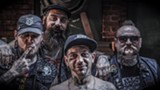 PHOTO PROVIDED - The Goddamn Gallows blend an old-time, American roots sound with punk energy. The band plays the Bug Jar on March 12.