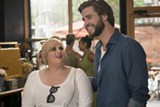 "PHOTO COURTESY WARNER BROS - Rebel Wilson and Liam Hemsworth in ""Isn't It Romantic."""
