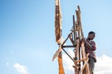 "PHOTO COURTESY NETFLIX - Maxwell Simba in ""The Boy Who Harnessed the Wind."