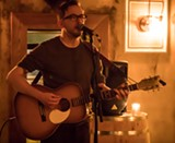 PHOTO BY AARON WINTERS - Local musician Dave Chisholm hosts a - singer-songwriter showcase every Thursday at The Daily Refresher.