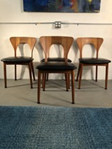 Mid-Century Dining Room Chairs - Uploaded by Lewis Stess