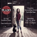 Camille Rae comes to Blades on University Ave - Uploaded by Boots1957