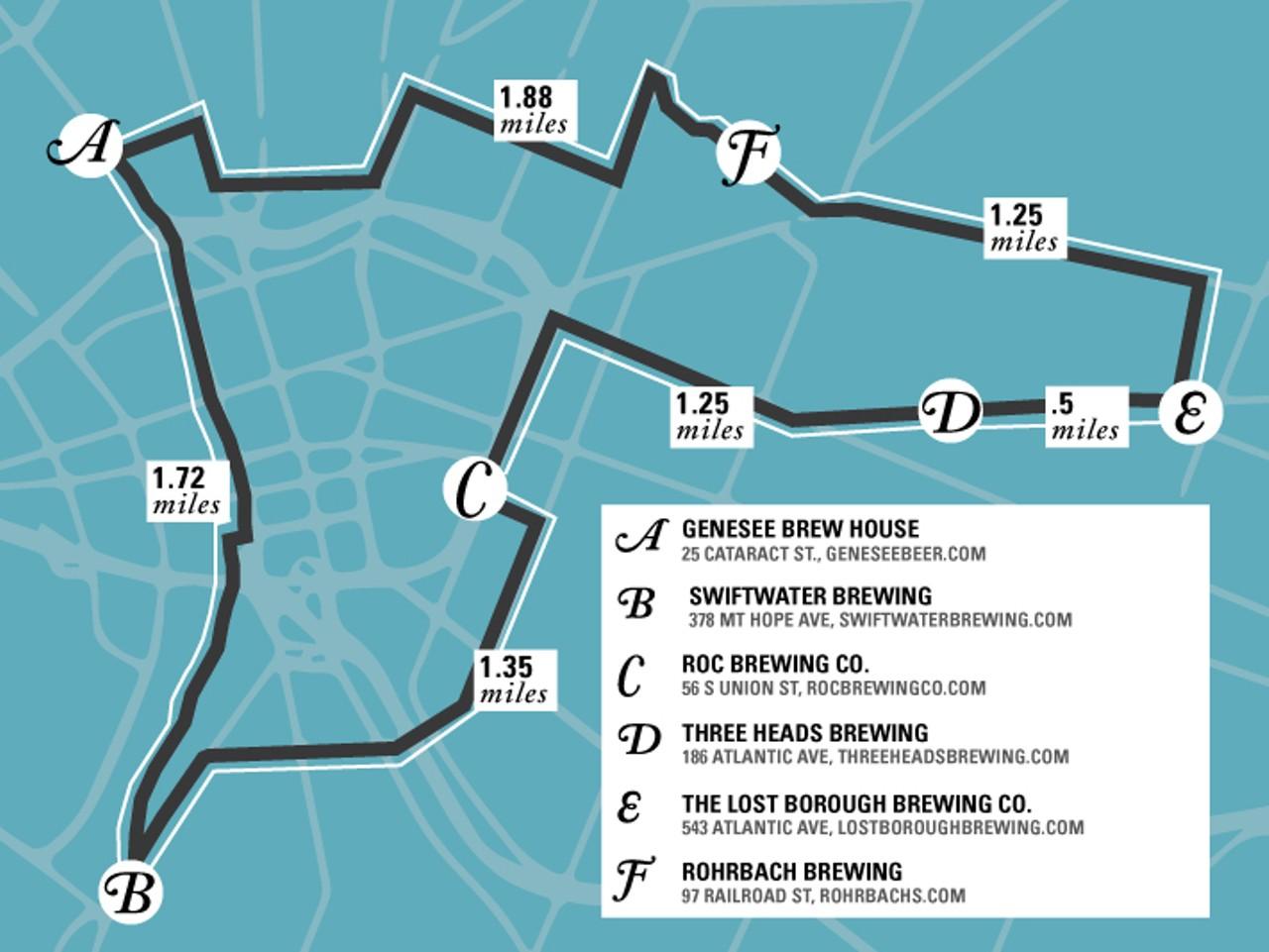 Tour De Brew Annual Manual City