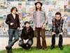 Vetiver is a San Francisco-based folk-rock project led by Andy Cabic (second from left).