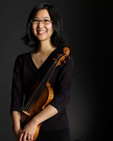 "PHOTO PROVIDED - Violinist Dongmyung Ahn will perform Sunday as part of Pegasus Early Music's ""A Woman's World"" program, featuring pieces composed by women in the 17th and 18th centuries."