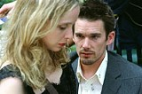 WARNER INDEPENDENT PICTURES - Wanna get some lunch? Julie Delpy and Ethan Hawke in the beloved Before Sunset.