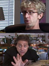 "THINKFILM - Want to hear a dirty joke? Andy Dick and - Richard Lewis in ""The Aristocrats."""