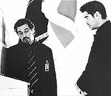 "Well, somethin' evil's happenin': Al Pacino and Colin - Farrell in ""The Recruit."""