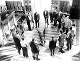 """COURTESY GEORGE EASTMAN HOUSE/DRYDEN THEATRE - What if God was one of us? It wouldn't end pretty --- a - scene from """"He Who Must Die."""""""