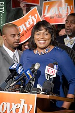 Mayor-elect Lovely Warren - FILE PHOTO.