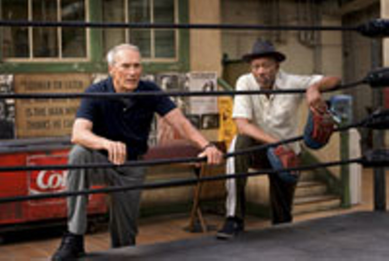 Clint Eastwood Takes On The Boxing Movie Movie Reviews Rochester
