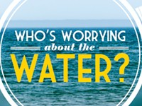 Who's worrying about the water?