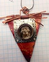 MARY HETTSMANBERGER - Window and hinge pendant