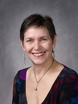 "WXXI's Julia Figueras will read Edith Sitwell's poetry as part of ""Façade,"" the author's collaboration with composer William Walton, performed Sunday in the final concert of the 2012 Finger Lakes Chamber Music Festival. PHOTO PROVIDED"