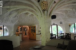 You can find several architectural curiosities in Rochester, including the Mushroom House. - FILE PHOTO
