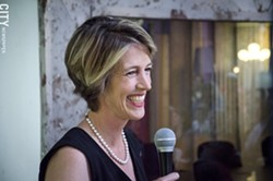 Zephyr Teachout. - PHOTO BY MARK CHAMBERLIN