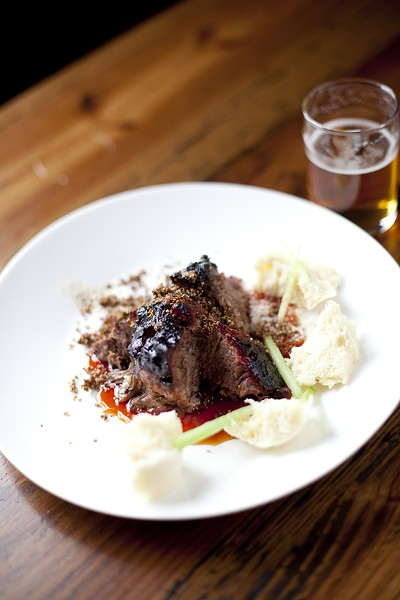The Granary 'Cue and Brew's beef clod ranks as the best non-traditional cut in America. - SUNNI HAMMER/THE GRANARY