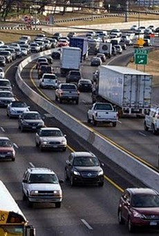 $6 billion spent on traffic costs last year by residents of Austin, Bexar, Travis, Hays, and Williamson countries.